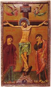 Crucifixion_Icon_Sinai_13th_century